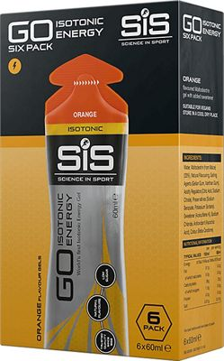Geles isotónicos energéticos Science In Sport Go (60 ml x 6)