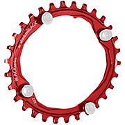 BLACK by Absoluteblack Narrow Wide Oval MTB Single Chainring
