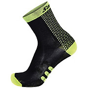 Santini Two Medium Profile Qskin Sock SS17