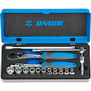 Unior Socket Set 1-4 In Metal Box