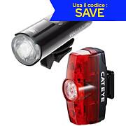 Cateye Volt 200 XC Rapid Mini Light Set