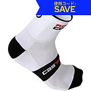 Castelli Rosso Corsa Sock 9cm