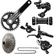 Shimano XT M8000 1x11sp MTB Groupset - No Rotors