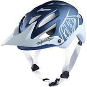 Troy Lee Designs A1 MIPS Helmet - Classic Blue-White