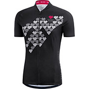 Gore Bike Wear Womens E Digi Heart Jersey SS17
