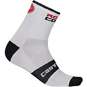 Castelli Rosso Corsa 6  Sock