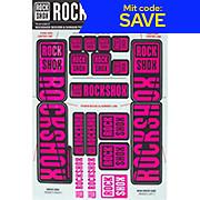 RockShox Decal Kit 35mm - Dual Crown