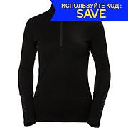 Helly Hansen Womens Lifa LS Merino 1-2 Zip AW17