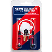 Joes No Flats Tubeless Presta Alloy Valve Kit
