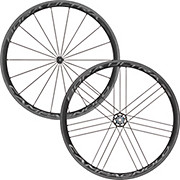 Campagnolo Bora Ultra 35 Tubular Wheelset 2019 Prime BlackEdition 85 Carbon Tubular Wheel - F Easton EC90 Aero 55 Road Front Wheel - Tubular