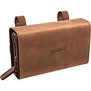 Brooks England D Shaped Pre-Aged Saddle Bag