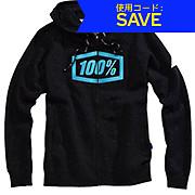 100 Syndicate Zip Hooded Sweatshirt AW17