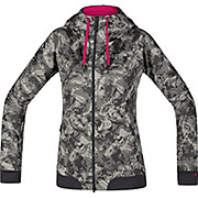 Gore Wear Womens C5 WS Trail Camo Hooded Jacket SS18