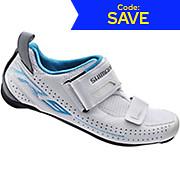 Shimano Womens TR9 SPD-SL Triathlon Shoes 2018