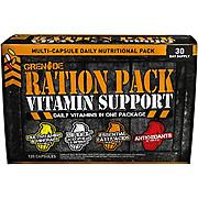 Grenade Ration Pack Vitamins 120 capsules