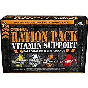 Grenade Ration Pack Vitamins 120 capsules