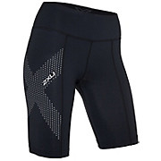 2XU Womens Mid-Rise Compression Shorts SS18