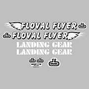 SE Bikes Floval Flyer Decal Set