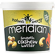 Meridian Cashew Smooth Butter 1000g Tub