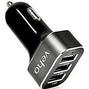 Veho Triple USB 5V 5.1A Car Charger 2017