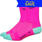 Defeet Aireator Hi-Vis D-Logo Socks