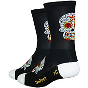 Defeet Aireator Tall Sugarskull Socks