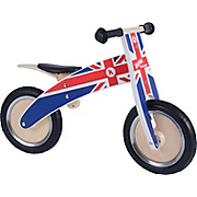Kiddimoto Union Jack Kurve Balance Bike 2018