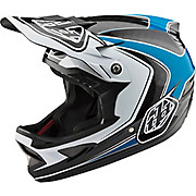 Troy Lee Designs D3 Carbon MIPS Helmet - Mirage Ocean