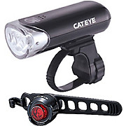 Cateye EL135 and Orb Front and Rear Light Set