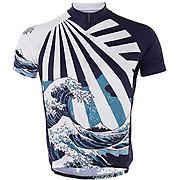 Primal Great Wave Sport Cut Jersey