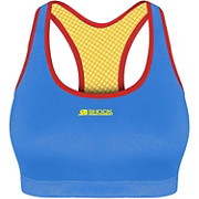 Shock Absorber Active Crop Top Blue AW18