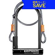 Kryptonite Keeper 12 STD U-Lock & Kryptoflex Cable