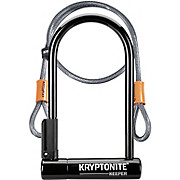 Kryptonite Keeper 12 STD U-Lock & Kryptoflex Cable