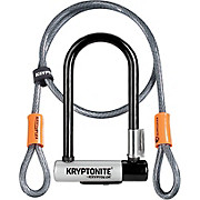 Kryptonite Mini 7 Bike U-Lock & Kryptoflex Cable