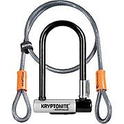 Kryptonite Mini 7 Bike U-Lock & Kryptoflex Cable