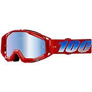 100 Racecraft Goggles - Mirror Lens