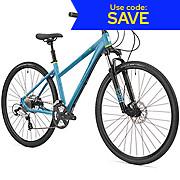 Saracen Urban Cross 1 Womens Hybrid Bike 2018