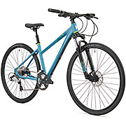 Saracen Urban Cross 1 Womens Hybrid Bike 2018