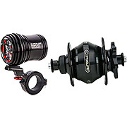 Exposure Revo Pack Dynamo Light 32 Spoke QR12 Hub