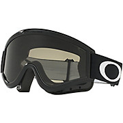 Oakley L-FRAME MX Grey & Clear Lens Goggles