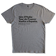 Velolove Grand Tours Organic T-Shirt SS18
