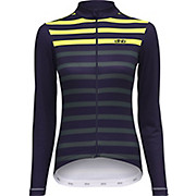dhb Classic Womens Long Sleeve Jersey Stripe AW18