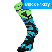 Ratio Fracture 16 cm Sock Blue-Green AW18