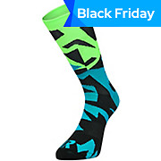 Ratio Fracture 20 cm Sock Blue-Green AW18