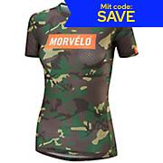 Morvelo Womens Camo Short Sleeve Baselayer AW18