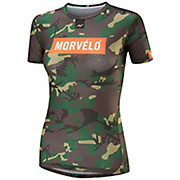 Morvelo Womens Camo Short Sleeve Baselayer AW18