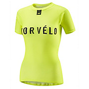 Morvelo Womens Definitive Fluro SS Baselayer AW18
