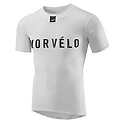 Morvelo Definitive White Short Sleeve Baselayer AW18