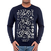 Cycology Bike Maths Long Sleeve T-Shirt