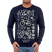 Cycology Bike Maths Long Sleeve T-Shirt
